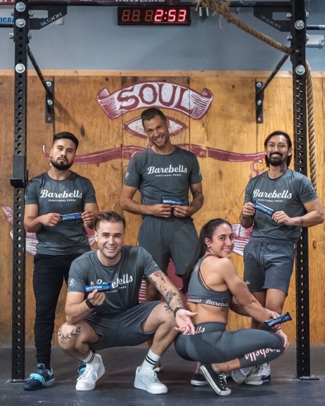✨BAREBELLS SQUAD✨   Soulmate or Swolemate? 💪🏻 Tag your #1 training partner or squad below! 🙌  #Barebells.USA