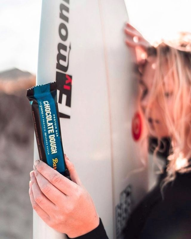 Ready when you are! 🤩 Always by your side post-surf or on-the-go! 🏄  #BarebellsUSA